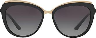 Dolce & Gabbana Eyewear cat eye sunglasses - Preto