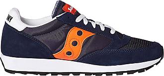 Saucony Mens Jazz Original Vitnage Low-Top Sneakers, Blue (Azul Marino 81), 10.5 UK