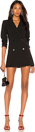 LPA Double Breasted Blazer Dress in Black