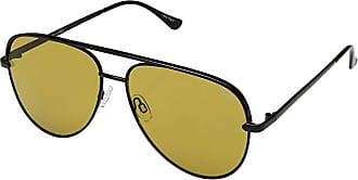 Quay Eyeware Sahara QUAYXDESI (Black/Olive) Fashion Sunglasses