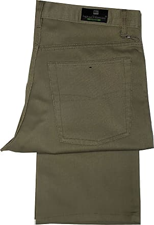 Generic Mens FINE Ribbed Bedford Cords Corduroy Casual,Formal Trousers,Work WEAR Pants,Sizes 30-48 (Sand, W38 x L29)