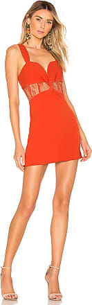 NBD Djuna Mini Dress in Orange
