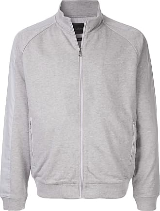 Durban contrast side panels jacket - Grey