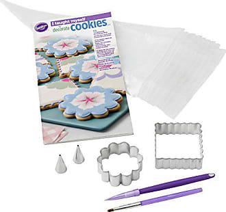 Wilton I Taught Myself To Decorate Cookies Cookie Decorating Book Set - How To Decorate Cookies