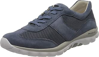 Gabor Womens Rollingsoft Low-Top Sneakers, Blue (Nautic 26), 5.5 UK