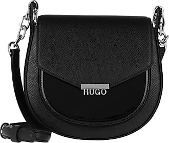 HUGO BOSS Cross Body Bags - Victoria Saddle Bag Black - black - Cross Body Bags for ladies