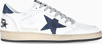 Golden Goose Sneaker Ballstar bianca e blu