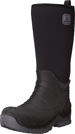 kamik Mens Bushman Wellington Boots,Black (Black-noir BLK),11.5 UK (47 EU)