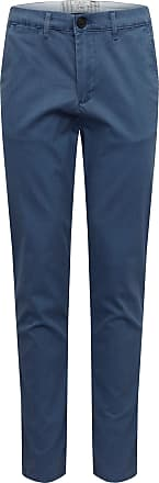 Selected Hose SLHSLIM-YARD BRKN TWILL NO-BELT PANTS W dunkelblau