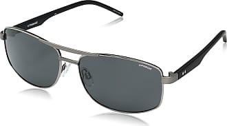 Polaroid Mens PLD 2040/S Y2 FAE 59 Sunglasses, Ruthen Black/Grey Pz