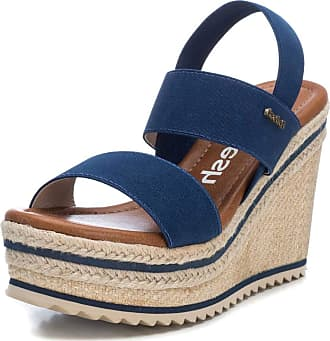 Refresh Womens Sandals 69619 Textil Navy Size: 35 EU