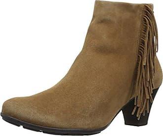 Mephisto Womens Batista Ankle Bootie, Tobacco Velcalf Premium, 9 M US