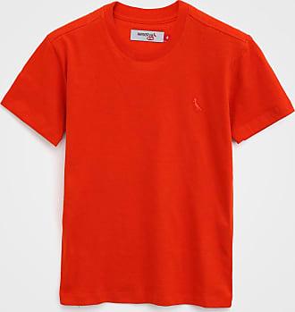 Reserva Mini Camiseta Reserva Mini Infantil Lisa Laranja