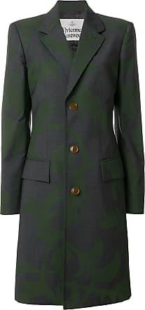 Vivienne Westwood Cappotto con stampa - Di Colore Grigio cadc82fbbba