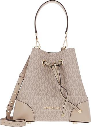 Michael Kors Bucket Bags - Small Mercer Gallery Shoulder Bag Truffle - beige - Bucket Bags for ladies