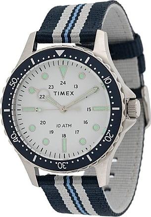 Timex Relógio Navi XL 41mm - Branco