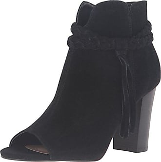 xoxo Womens Belina Ankle Bootie, Black, 5 M US