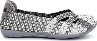 bernie mev. Womens Catalina Flat (Silver Grey, 2)