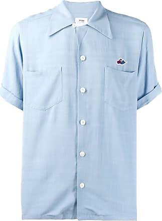 Visvim plain shortsleeved shirt - Azul