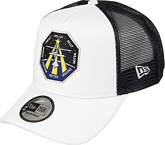 New Era STS 121 A Frame Adjustable Trucker Cap Isa X Edition White - One-Size