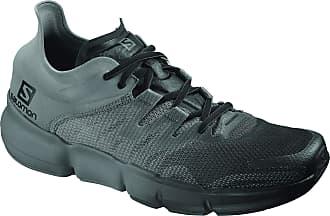 Salomon Mens Predict Ra Competition Running Shoes, Black (Black/Quiet Shade/Ebony), 10.5 UK
