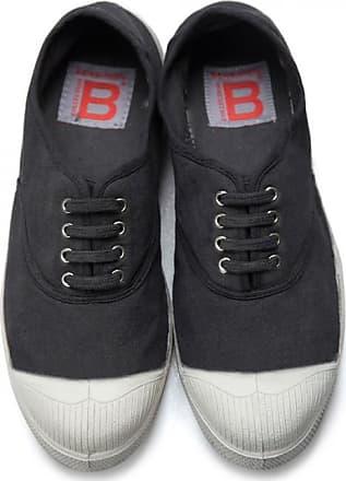 Bensimon MEN LACE TENNIS SHOES CARBON