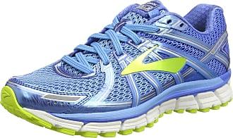Brooks Womens Adrenaline Gts 17 Gymnastics Shoes, Blue (Azure Blue/Palace Blue/Lime Punch), 3 UK