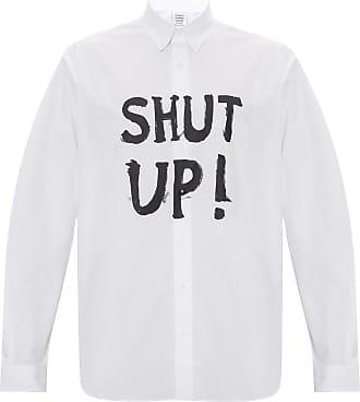 VETEMENTS Oversize Shirt Mens White