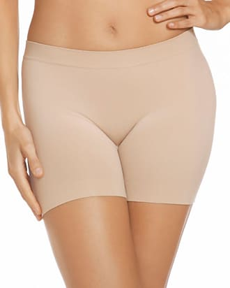 Jockey Skimmies Short Length Slipshort 3 Pack-Beige-X-Large-short-UK14