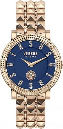 Acotis Limited Versus Watches Ladies Stainless Steel Catwalk 2 Hands Quartz Blue Watc