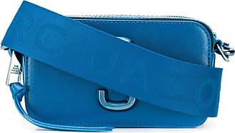 Marc Jacobs Bolsa tiracolo texturizada - Azul