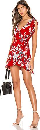 Superdown Lorelei Swing Dress in Red