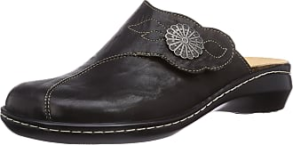 Think Think Womens CAMILLA Clogs and Mules Black Size: 42 EU