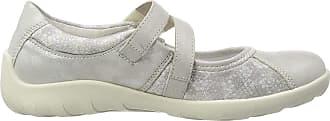 Remonte R3510, Womens Ballet Flats Ballet Flats, Silver (Silber/Silverflower 90), 6.5 UK (40 EU)