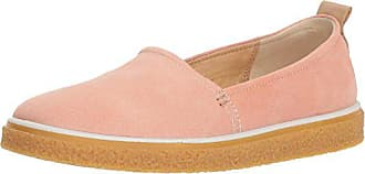 Ecco Womens Womens Crepetray Slip On Loafer, Muted Clay, 41 Medium EU (10-10.5 US)
