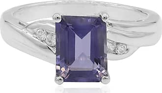 Juwelo Iolith Ring Silber Iolith Schmuck Iolith Blau