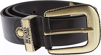 Versace Jeans Couture Belts On Sale, Black, Leather, 2019, 36 38