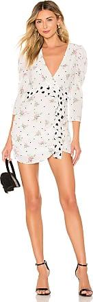 For Love & Lemons Mable Mini Dress in White