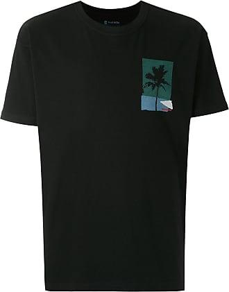 Osklen Big Palm printed T-shirt - Black