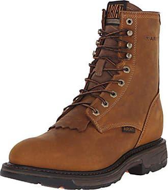 Ariat Ariat Work Mens Workhog 8 Work Boot, Aged Bark, 10.5 EE US