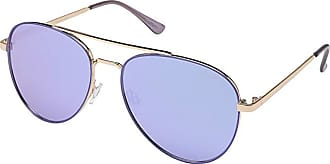 Quay Eyeware Single (Blue/Violet) Fashion Sunglasses