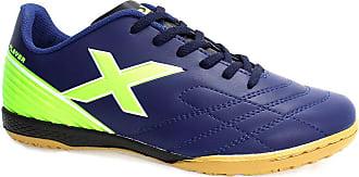 OXN Chuteira Oxn Player 2 Futsal Marinho e Verde