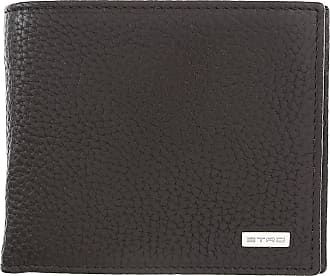 Etro Wallet for Men On Sale, Ebony, Leather, 2017, one size