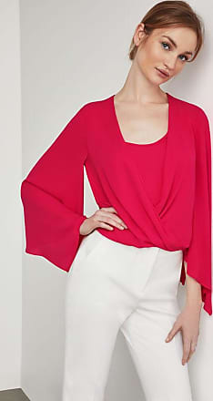 BCBGeneration Handkerchief Sleeve Wrap Top