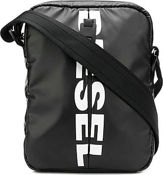 Diesel F-Bold small crossbody bag - Preto