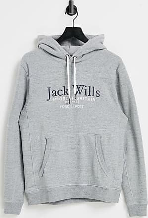 Jack Wills Batsford Sweat à capuche violet Pull pour homme taille medium M REF36