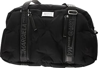 844ede1a94f5 Maison Margiela Weekender Duffel Bag for Men On Sale, Black, Leather, 2017,
