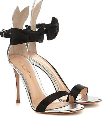 Gianvito Rossi Sandalen aus Leder und Satin