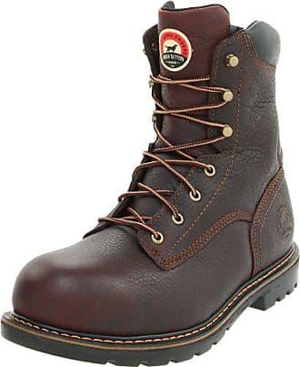 Irish Setter Mens 83804 8 Aluminum Toe Work Boot,Brown,12 EE US