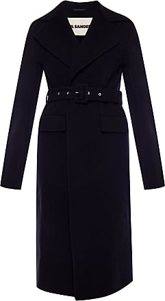Jil Sander Coat With Notched Lapels Womens Black